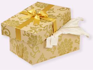 Caja para conservar vestido de novia