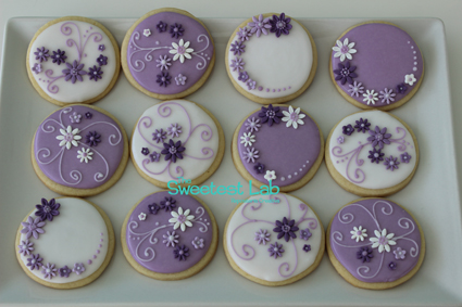 galletas boda flores