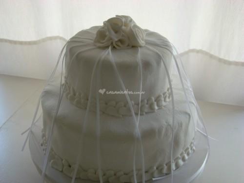 tradicion tarta boda cintas
