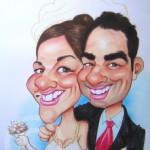 caricatura amigos casaderos