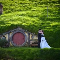 boda en Hobbiton