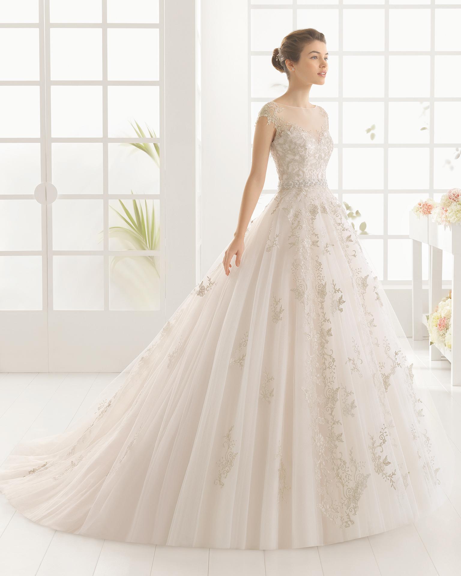 Vestidos de novia aire barcelona 2016 precios