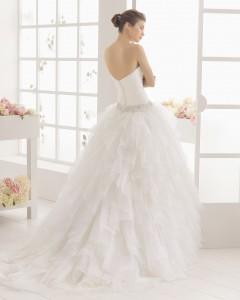 vestido de novia Melibea 2016