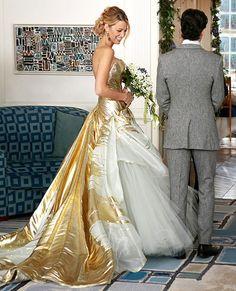 vestido de novia en Gossip Girl