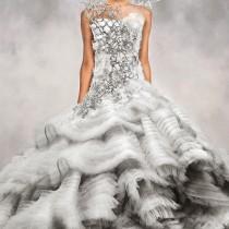 vestido de novia de Katniss Everdeen