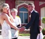 Interrumpió una boda para…