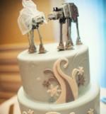 Tartas nupciales inspiradas en la saga 'Star Wars'